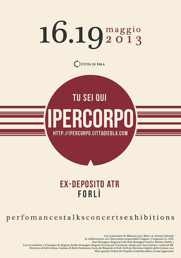 Festival Ipercorpo - Manifesto
